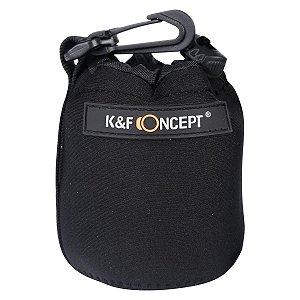 Case Porta Lente Neoprene K&F Pequeno