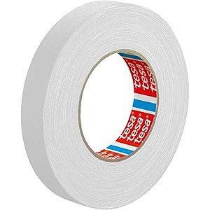 Fita de tecido TESA - Gaffer Tape 24mm X 50m Branca (4671)