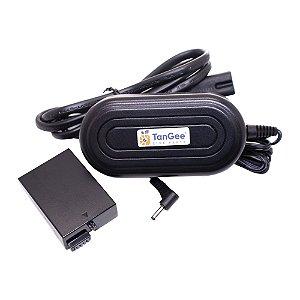 Adaptador Fonte Dummy Battery TanGee Para Baterias Canon LP-E10
