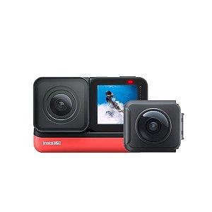 Câmera Insta360 One R Twin Edition + Pau De Selfie + Nota Fiscal + Lacrada
