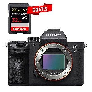 Câmera Sony Alpha A7iii ILCE-7M3 a7 iii Mirrorless (Corpo)