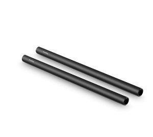 "Longarina SmallRig Par 2x 15mm Rod alumínio preto (M12-30cm) 12"" 1053"