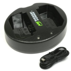 Carregador de bateria duplo Wasabi Power para Sony NP-FZ100 (BC-QZ1)