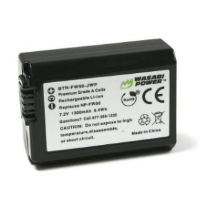 Bateria Wasabi NP-FW50 Para Câmeras Sony Alpha