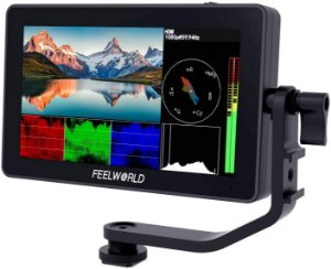 "Monitor FeelWorld F6 PLUS 5.5"" 4K Touch Screen (LUT)"
