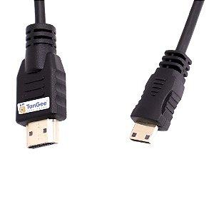 Cabo TanGee Cine Espiral HDMI x Mini HDMI 4K de Alta Velocidade (Canon)