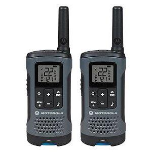 Rádio Comunicador MOTOROLA Talkabout 32km T200BR Cinza