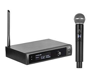 Microfone sem Fio de Mão Harmonics UHF HSF-101 (Anatel)