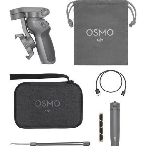 Estabilizador DJI Osmo Mobile 3 Combo Gimbal P/ Smartphone