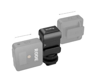 SmallRig suporte P/ 2 microfones Rode Wireless Go 2996