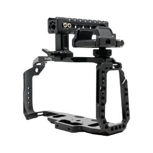 Kit Smallrig P/ Blackmagic Pocket 4k/6k Cage + Top Handle + suporte SSD
