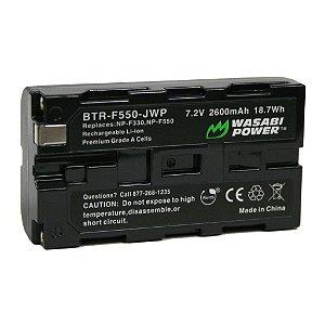 Bateria Wasabi BTR-F550 P/ Sony NP-F530 / NP-F550 (6K PRO)