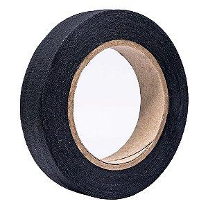Fita de Tecido Gaffer Tape 24mm x 50m Preta - RapiFix