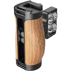 "Manopla Handle de Madeira SmallRig 2913 Wooden Mini Side Handle (Parafuso 1/4"")"