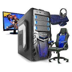 Pc Gamer Completo Smart + Cadeira