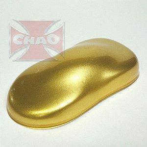 Solar Gold poliéster metálico