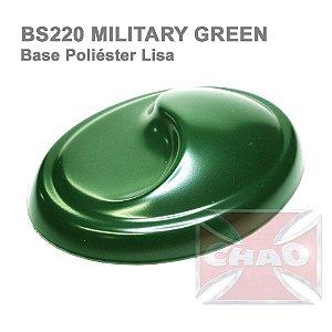 Military Green poliéster lisa