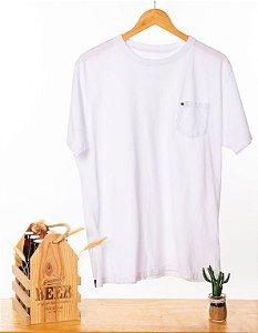 Camiseta Hop.oh com bolso - Branca