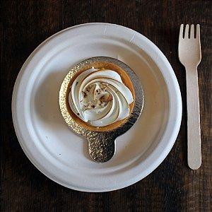 Torta de limão com amêndoas (individual)