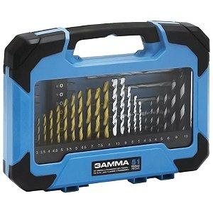 Kit de Acessórios para Furadeira e Parafusadeira com 51 Peças - GAMMA-G19512AC