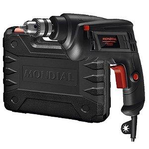 Furadeira de Impacto 3/8 Pol. 550W com Maleta - MONDIAL-FI-09M