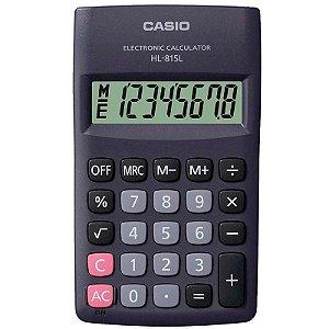 Calculadora Portátil De Bolso Com Visor Grande Casio Hl-815l