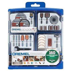 Kit para Mini Retifica 710-RW2 para Uso Geral 160 Peças - DREMEL-26150710AK-000