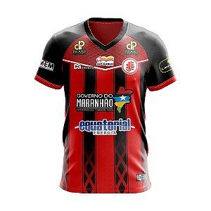 Camisa Juventude São Mateus I 2020 Vermelha e Preto