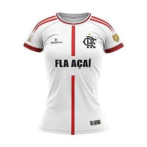Camisa Fla Açaí 20/21 Branca Feminina