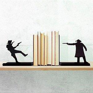 Porta Livro Faroeste Bang - Porta Livro Geek