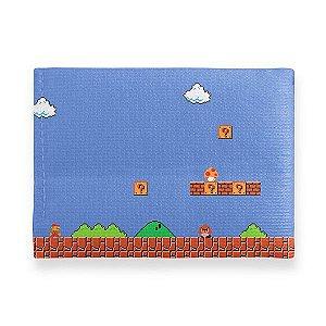 Carteira Slim Cenário Mario - Carteira Gamer