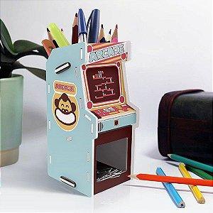 Porta Trecos Arcade Donkey - Porta trecos Gamer