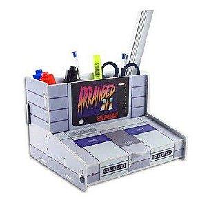 Organizador de Escritório Console - Porta Trecos Gamer