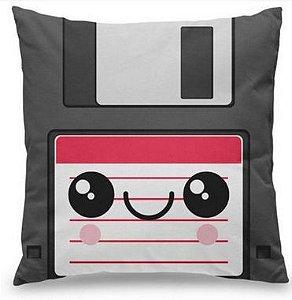 Almofada Disquete Floppy Disk - Almofada Geek