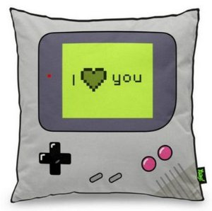 Almofada Gamer Boy - I Love You - Almofada Gamer
