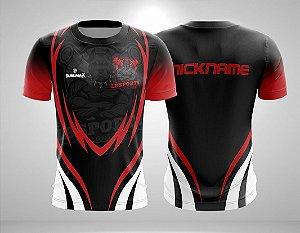 Camiseta Gamer E-Sport FreeFire LB Sports c/Nick