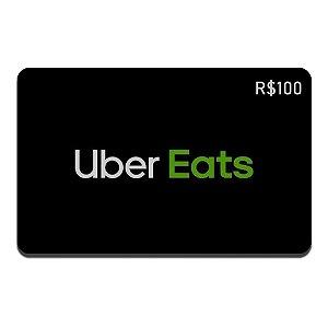 Gift Card Uber Eats R$100