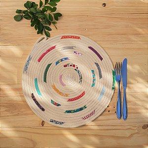 Sousplast de corda Colore