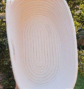 Cesta oval para fermentação de pão