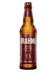 Cerveja Brahma Duplo Malte Long Neck 330 ml