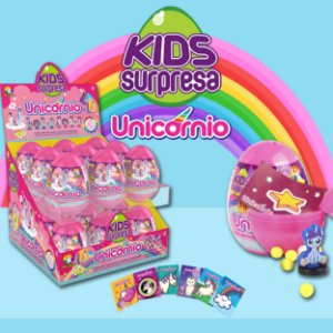 Kids Surpresa Eggs Unicórnio