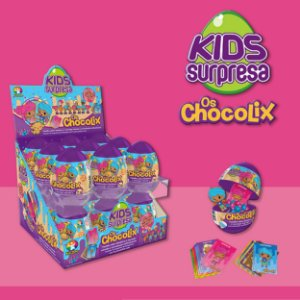 Kids Surpresa Eggs Chocolix
