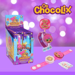 Pulseira Kids Flash Chocolix