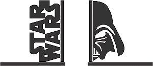 Aparador de Livro Geek - Star Wars Darth Vader