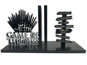 Aparador de Livro Game Of Thrones 15x14cm