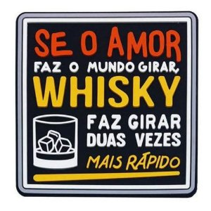 Porta Copo Amor Vs Whisky
