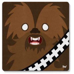 Mouse Pad Geek Side Faces - Bacca