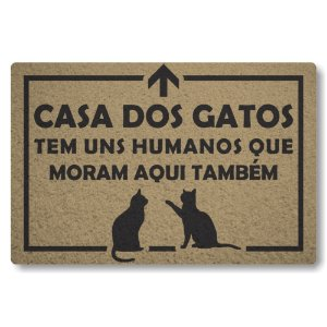 5 Capachos Linha Tapets Casa dos Gatos