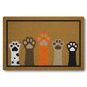 5 Capachos Linha Tapets Eu sou Canino