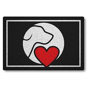 5 Capachos Linha Tapets Love cao